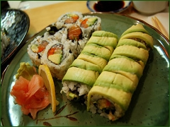 Le green roll